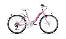 "Велосипед Bottecchia 24"" CTB Girl 6S Розовый ― AmigoToy"