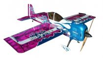 Самолёт р/у Precision Aerobatics Addiction XL 1500мм KIT (фиолетовый)