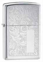 Zippo 352 venetian high polish chrome