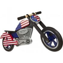 "Беговел 12"" Kiddi Moto Chopper USA деревянный"